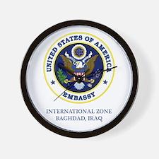 US Embassy - Baghdad Wall Clock