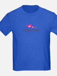 biggest sister t-shirts birdie T
