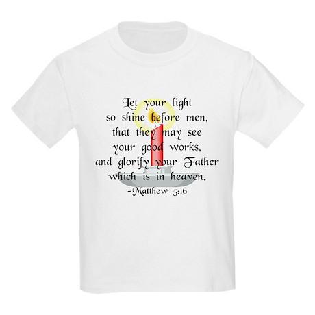 """Let Your Light So Shine"" Kids T-Shirt"