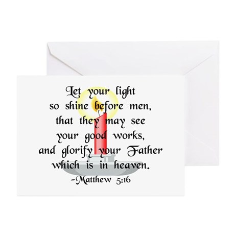 """Let Your Light So Shine"" Greeting Cards (10pk)"