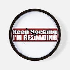 Keep Honking Wall Clock