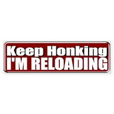 Keep Honking Bumper Sticker (10 pk)