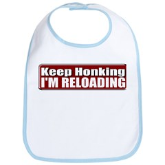 Keep Honking Bib