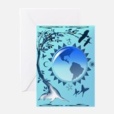 Embrace Earth Greeting Card