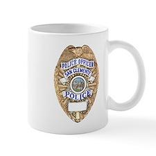 San Clemente Police Mug