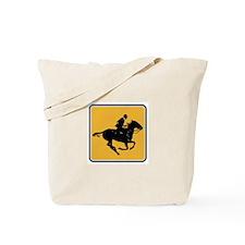 Actualitee Horse Tote Bag