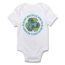 Please Recycle Infant Bodysuit