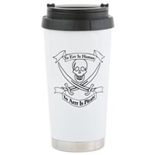 To Arrr Is Pirate Thermos Mug