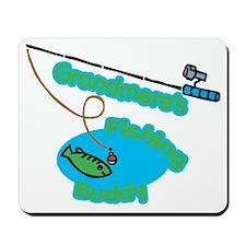 Grandmere's Fishing Buddy Mousepad