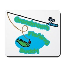 Grandmom's Fishing Buddy Mousepad