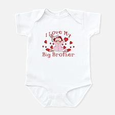 I Love Big Brother Rag Doll Infant Bodysuit