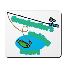 Grandmother's Fishing Buddy Mousepad