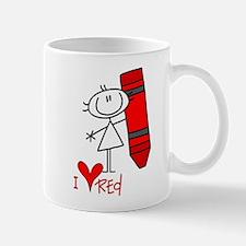 I Love Red Mug