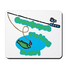 Grandpapa's Fishing Buddy Mousepad