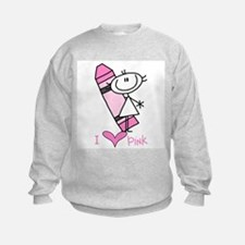 I Love Pink Sweatshirt