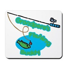 Grandpere's Fishing Buddy Mousepad