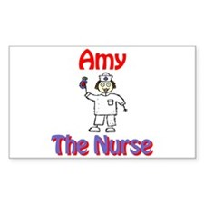 Amy - The Nurse Rectangle Decal