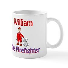 William - Firefighter Mug