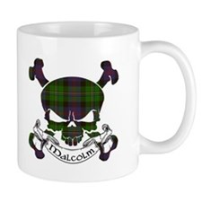 Malcolm Tartan Skull Mug