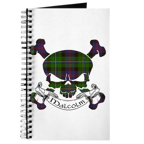 Malcolm Tartan Skull Journal