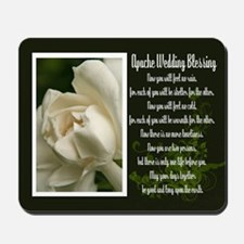 Traditional Apache Wedding Blessing Mousepad