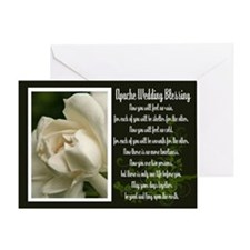 Traditional Apache Wedding Blessing Greeting Card