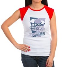 Alien Mascot Cap Sleeve T-Shirt