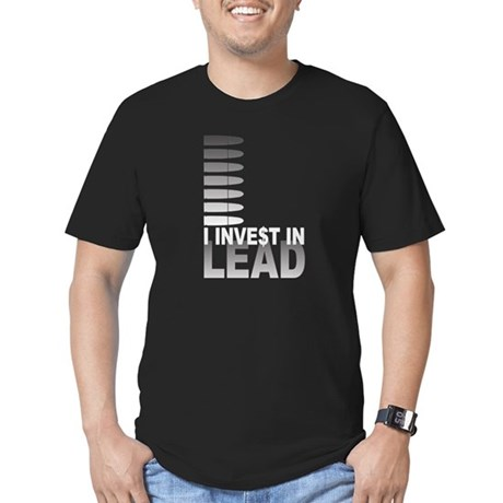 I Invest In Lead Men's Fitted T-Shirt (dark)