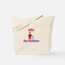 John - Firefighter Tote Bag