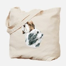 Bearded Collies, Beardie dogs Tote Bag