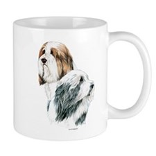 Bearded Collies, Beardie dogs Mug