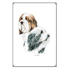 Bearded Collies, Beardie dogs Banner