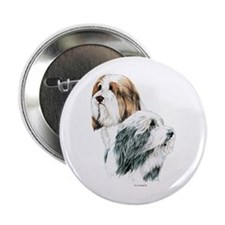 "Bearded Collies, Beardie dogs 2.25"" Button"