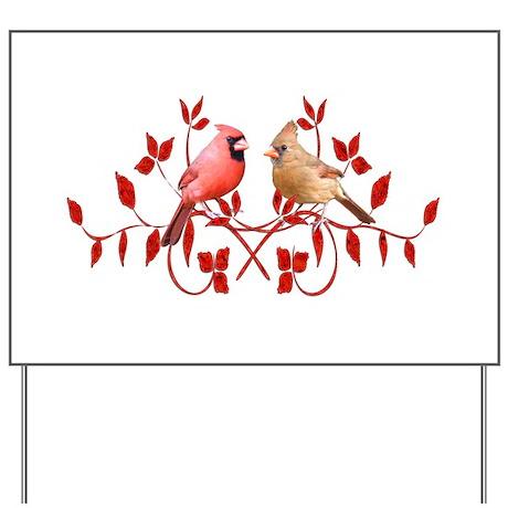 Love Birds Yard Sign