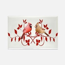 Love Birds Rectangle Magnet (10 pack)