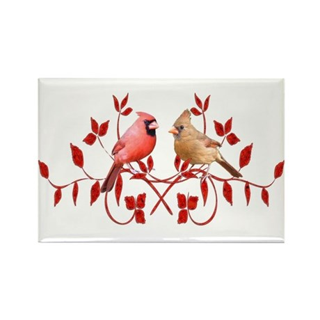 Love Birds Rectangle Magnet