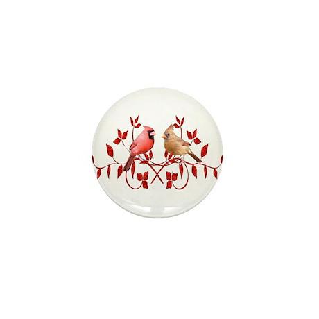 Love Birds Mini Button (10 pack)