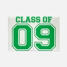 Class Of 09 (Green Varsity) Rectangle Magnet