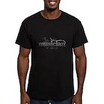 Urban Musician Men's Fitted T-Shirt (dark)