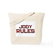 jody rules Tote Bag