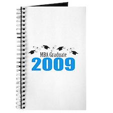 MBA Graduate 2009 (Blue Caps And Diplomas) Journal