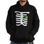 St Patrick Skeleton Hoodie (dark)
