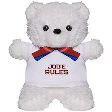 jodie rules Teddy Bear