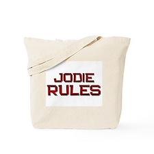 jodie rules Tote Bag