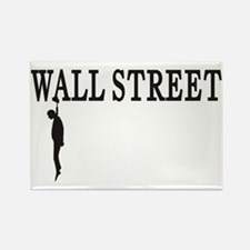 Hanging Wall Street Rectangle Magnet