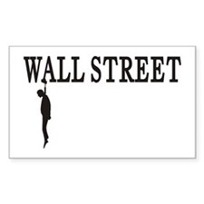 Hanging Wall Street Rectangle Decal