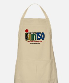 I Support 1 In 150 & My Son BBQ Apron
