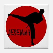 -Jeremiah Karate Tile Coaster