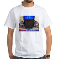 Blue & Beautiful Roadster T-Shirt (white)