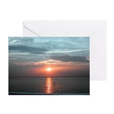 "Cozumel ""Adios Sol"" Greeting Cards (Pk of 10)"